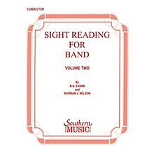 Southern Sight Reading for Band, Book 2 (Trombone 2) Southern Music Series Composed by Billy Evans