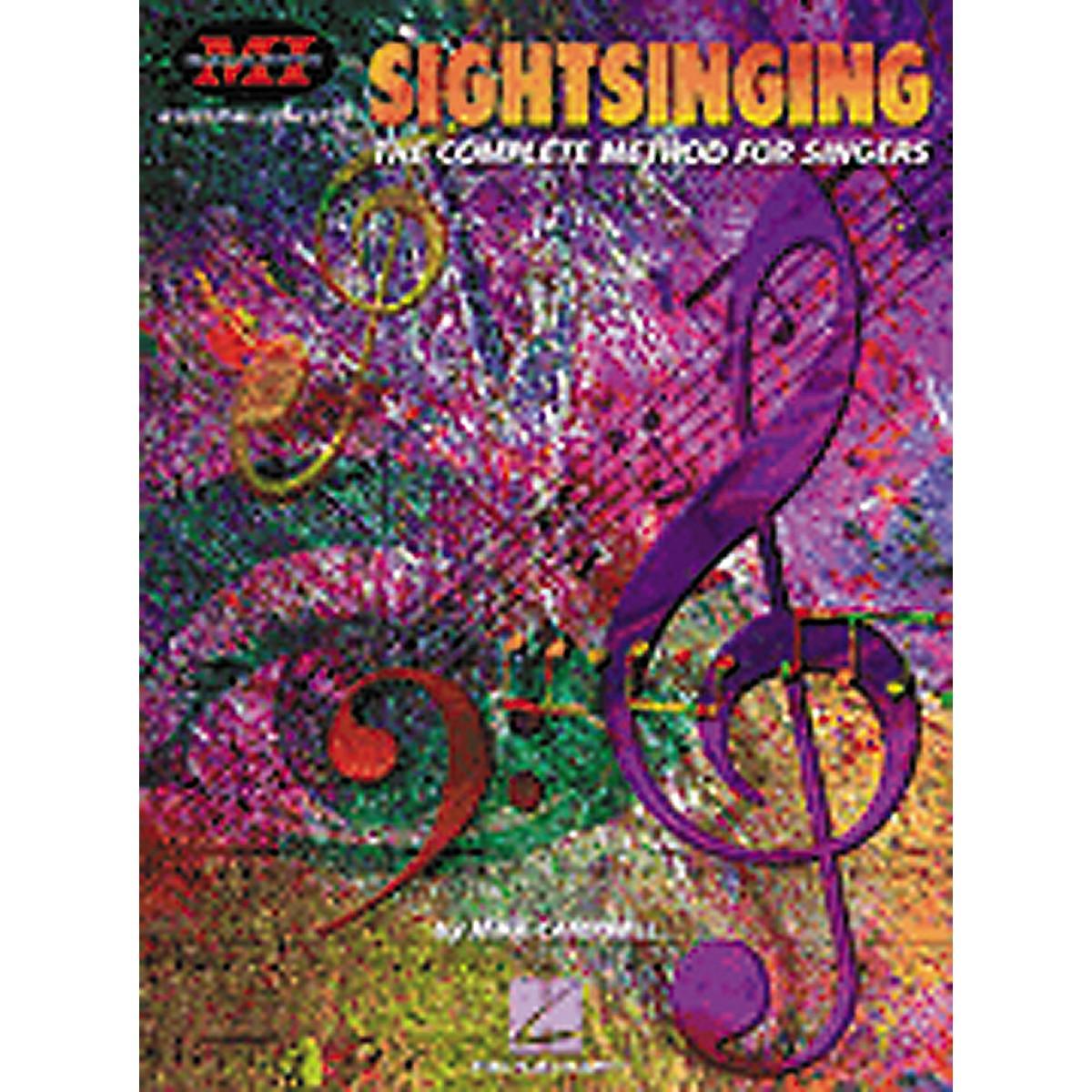 Hal Leonard Sight Singing Book The Complete Method for Singers