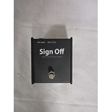 Pro Co Sign Off Pedal
