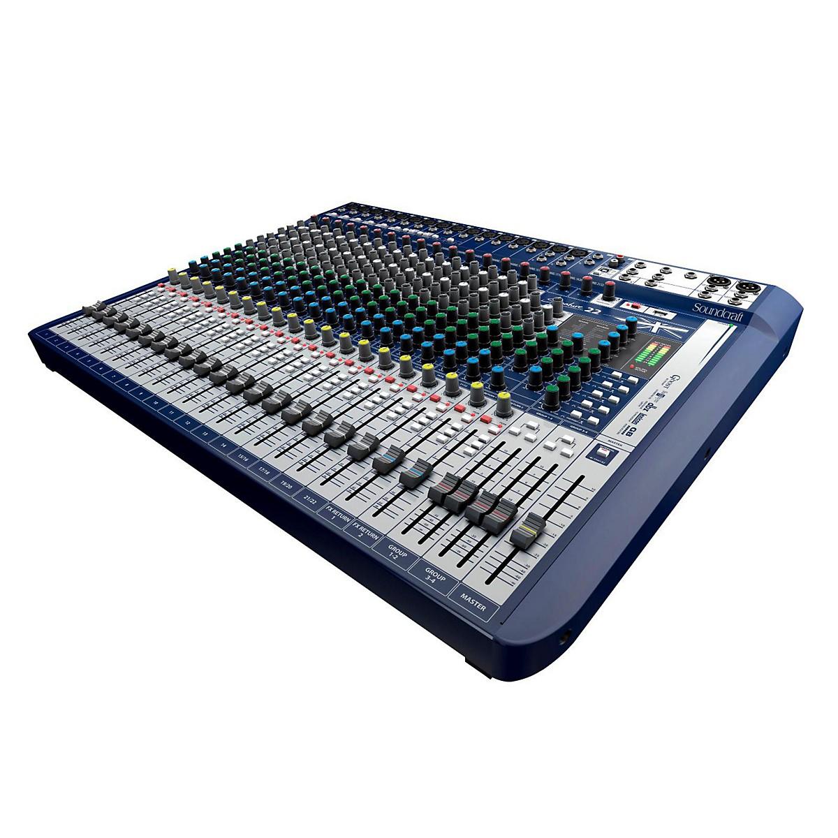Soundcraft Signature 22 22-Input Analog Mixer with Effects