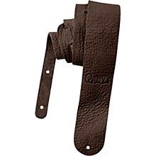 Signature Buffalo Reversible Guitar Strap Dark Brown 2.5 in.