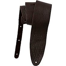 Signature Buffalo Reversible Guitar Strap Dark Brown 3.5 in.