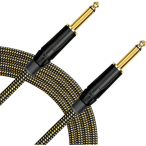 Livewire Signature Guitar Cable Straight/Straight Black and Yellow