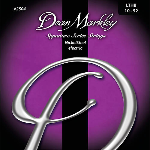 Dean Markley Signature Light Top Heavy Bottom, 10-52 3 Pack
