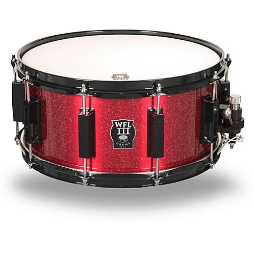 wfliii drums signature metal snare drum with black hardware guitar center. Black Bedroom Furniture Sets. Home Design Ideas