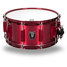 WFL Signature Metal Snare Drum with Red Hardware