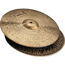 Paiste Signature Series Dark Energy MKI Hi-Hat Cymbal Pair