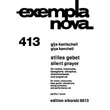 Sikorski Silent Prayer String Series Composed by Giya Kancheli (Kantscheli)