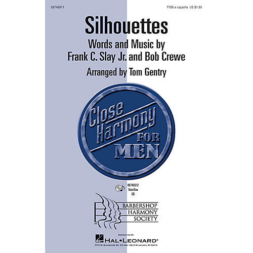 Hal Leonard Silhouettes VoiceTrax CD Arranged by Tom Gentry