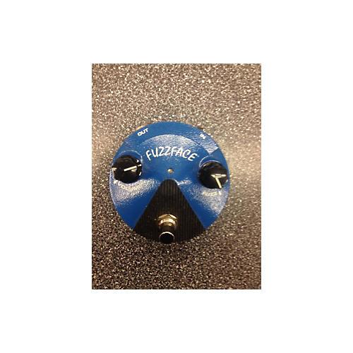 Dunlop Silicon Fuzz Face Mini Blue Effect Pedal