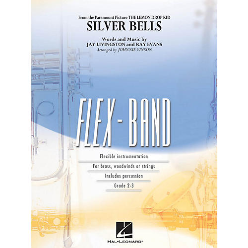 Hal Leonard Silver Bells - Flex-Band Series