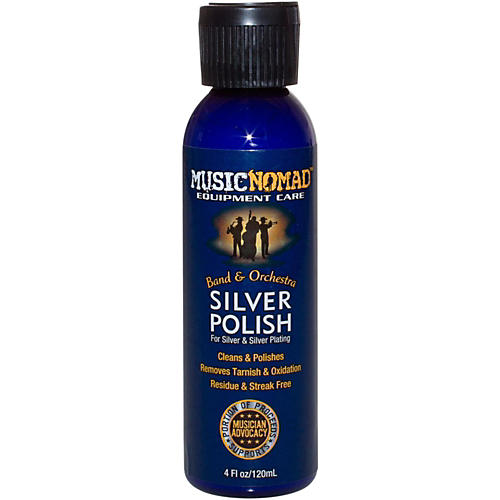 Music Nomad Silver Polish for Silver & Silver Plated Instruments