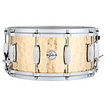 Silver Series Hammered Brass Snare Drum 14 x 6.5