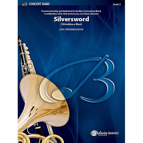 Alfred Silversword Concert Band Grade 3 Set
