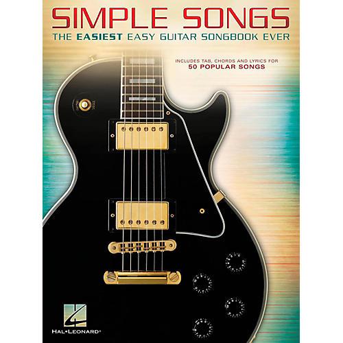 Hal Leonard Simple Songs - The Easiest Easy Guitar Songbook Ever