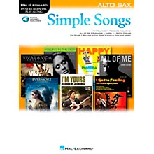Hal Leonard Simple Songs (Alto Sax) Alto Sax
