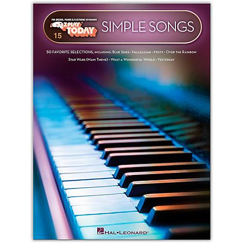 Hal Leonard Simple Songs E-Z Play Today Volume 15