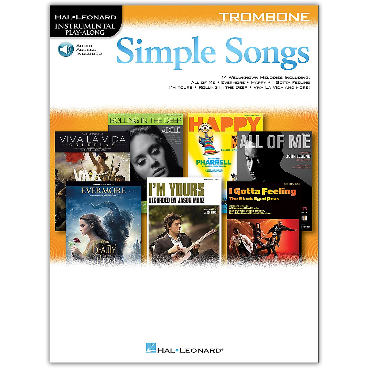 Hal Leonard Simple Songs (Trombone) Trombone