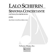 Lauren Keiser Music Publishing Sinfonia Concertante (Violin, Violoncello and Piano Reduction) LKM Music Series Composed by Lalo Schifrin