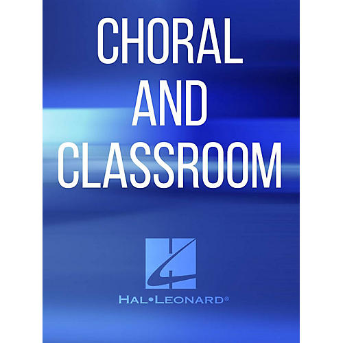 Hal Leonard Sing To The Lord A New Song SATB Composed by Hornyak Istv
