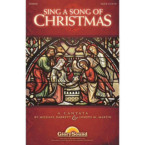 Shawnee Press Sing a Song of Christmas Listening CD Composed by Michael Barrett