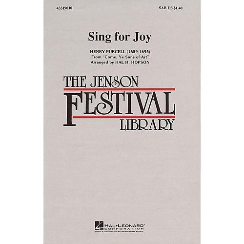 Hal Leonard Sing for Joy SAB arranged by Hal Hopson