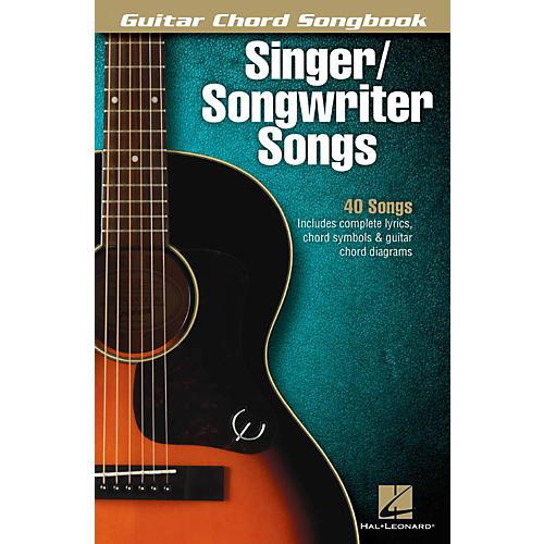 Hal Leonard Singer/Songwriter Songs - Guitar Chord Songbook