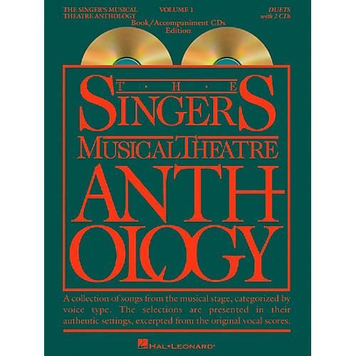 Hal Leonard Singer's Musical Theatre Anthology Volume 1 Duets Book / 2CD's