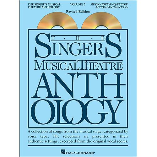 Hal Leonard Singer's Musical Theatre Anthology for Mezzo-Soprano / Belter Volume 2 2CD's Accompaniment