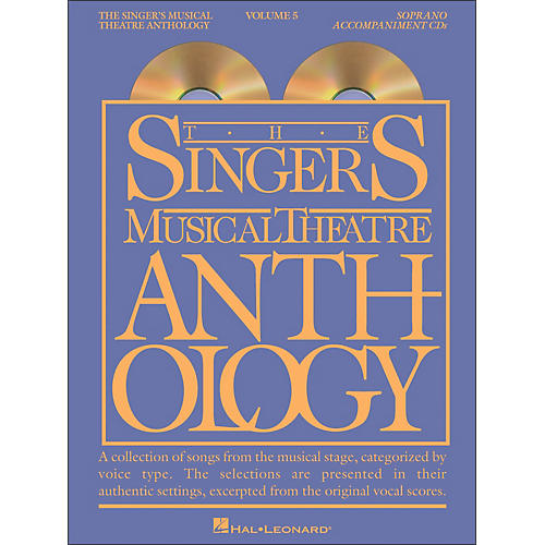 Hal Leonard Singer's Musical Theatre Anthology for Soprano Vol 5 2/CD Accompaniment