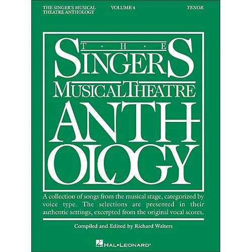 Hal Leonard Singer's Musical Theatre Anthology for Tenor Voice Volume 4