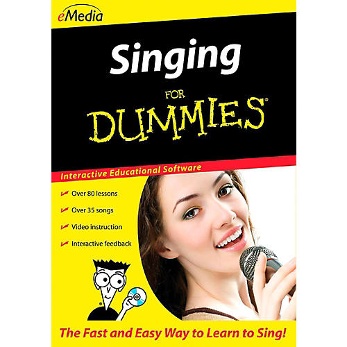 eMedia Singing For Dummies - Digital Download
