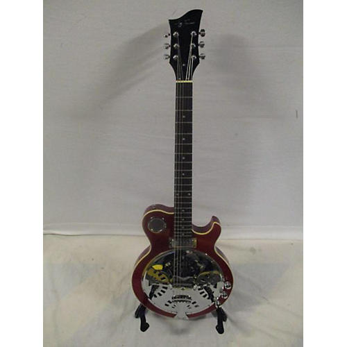 Jay Turser Single Cut Solidbody Resonator Solid Body Electric Guitar