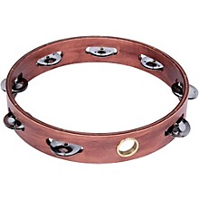 Gon Bops Single Row Wooden Tambourine