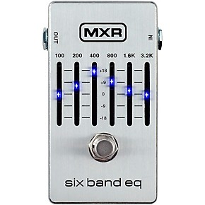 mxr six band eq pedal guitar center. Black Bedroom Furniture Sets. Home Design Ideas