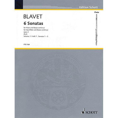 Schott Six Sonatas, Op. 2 (Volume 1) Schott Series