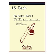 Southern Six Suites, Book 1 (Suites 1-3) Southern Music Book Composed by J.S. Bach Arranged by Robert Marsteller