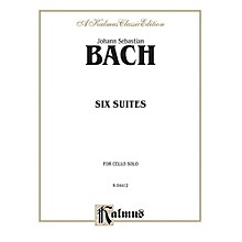 Alfred Six Suites for Cello Solo By Johann Sebastian Bach Book