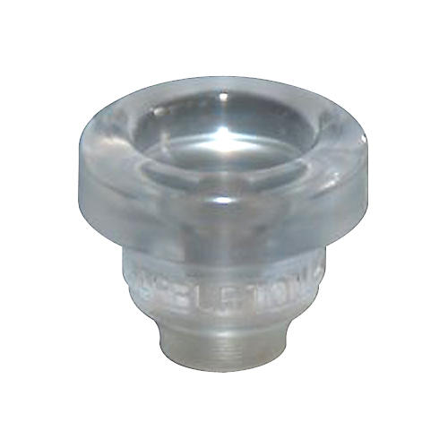 Warburton Size 1 Lexan Series Trumpet and Cornet Mouthpiece Top