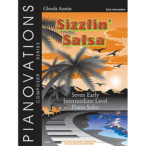 Willis Music Sizzlin' Salsa Willis Series Book by Glenda Austin (Level Early Inter)