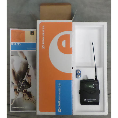 Sennheiser Sk100g3a Headset Wireless System