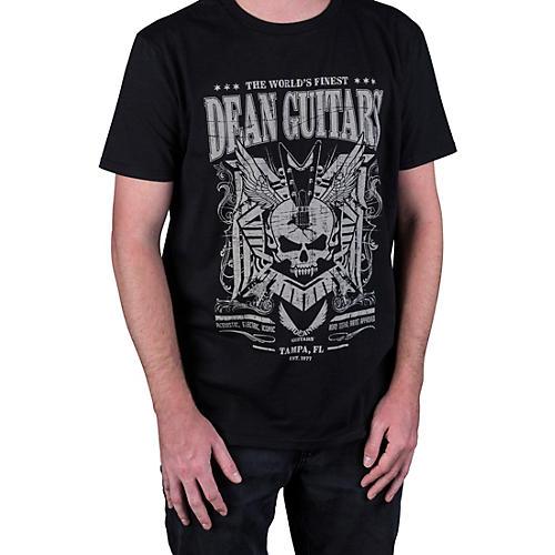 Dean Skull Black T-Shirt