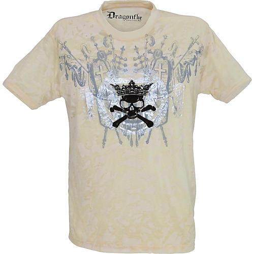 Dragonfly Clothing Company Skull and Crossbones T-Shirt