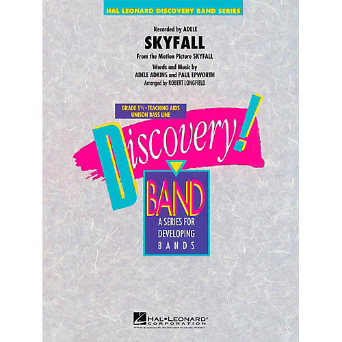 Hal Leonard Skyfall  - Discovery Concert Band Level 1