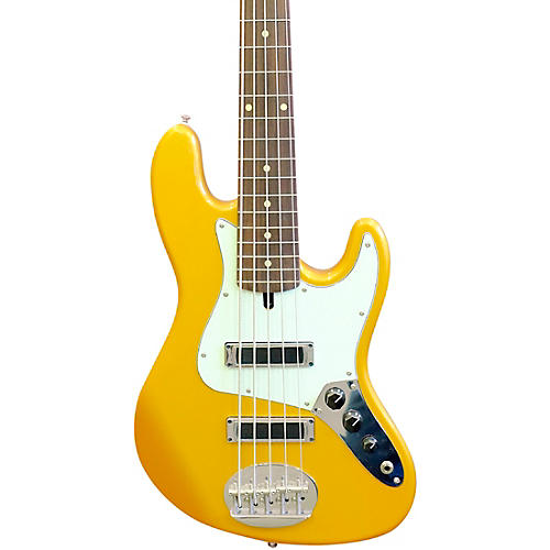 Lakland Skyline J-Sonic Rosewood Fretboard 5-String Electric Bass Guitar