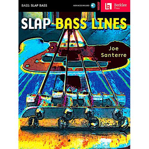Hal Leonard Slap Bass Lines Book/CD