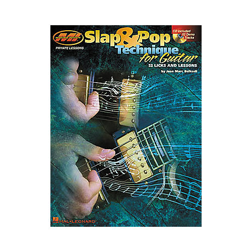 Hal Leonard Slap and Pop Technique for Guitar Book/CD