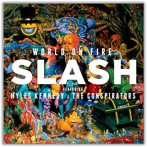 Universal Music Group Slash - World On Fire (feat. Myles Kennedy & The Conspirators) Vinyl LP