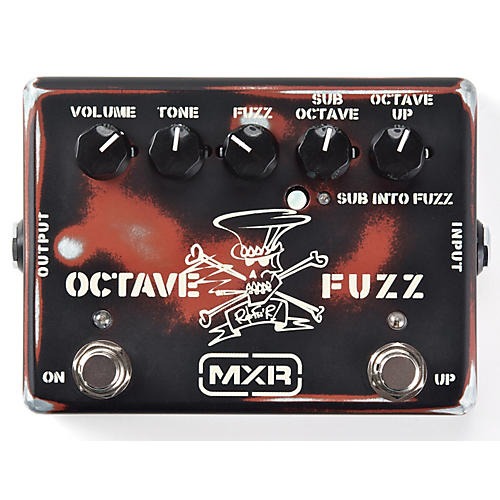 Dunlop Slash Octave Fuzz Guitar Effects Pedal