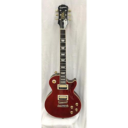 used epiphone slash rosso corsa les paul standard solid body electric guitar wine red guitar. Black Bedroom Furniture Sets. Home Design Ideas